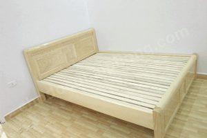 giường ngủ cũ hải phòng gỗ sồi