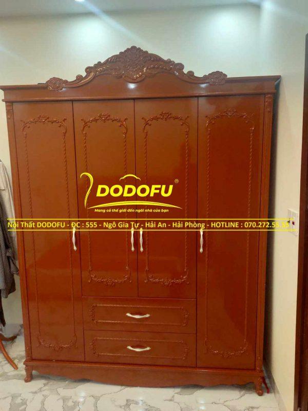tủ quần áo tân cổ điển cao cấp cũ 01