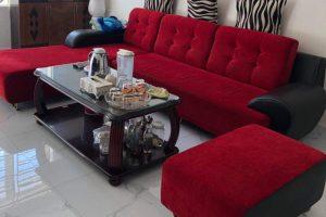 bộ sofa nỉ cũ 002