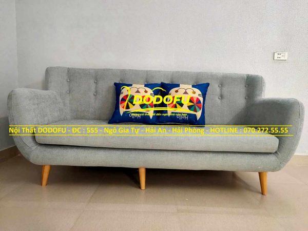 bộ sofa văng nỉ cũ 03