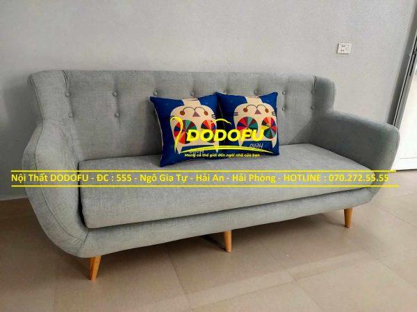 bộ sofa văng nỉ cũ 01