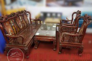 Bàn ghế gỗ thanh lí