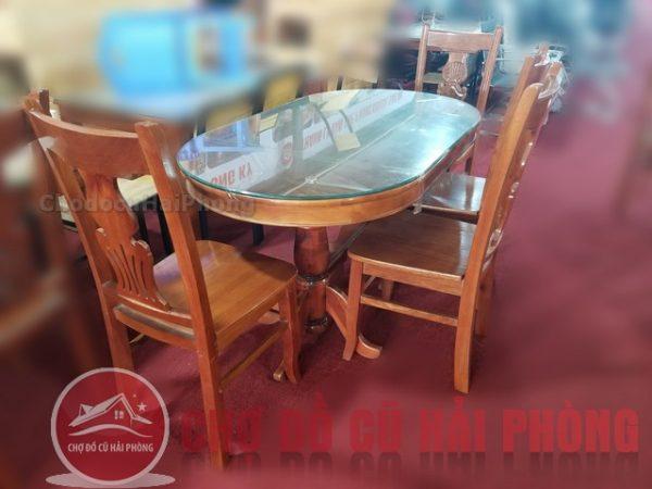 Bàn ghế ăn cũ thanh lý