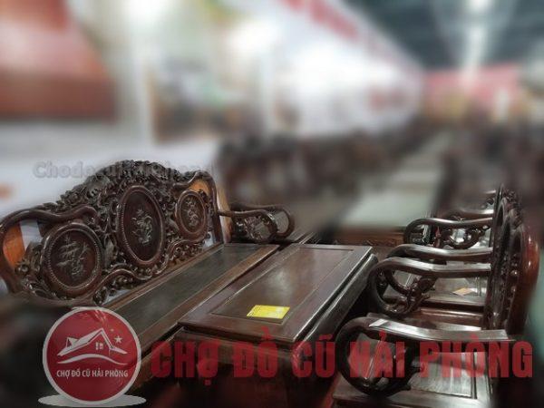 Bàn ghế gỗ ĐK