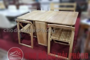 bàn ăn thông minh gỗ