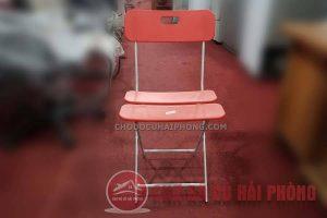 Ghế gấp đỏ
