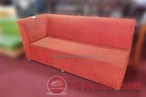 Sofa thanh lý màu đỏ
