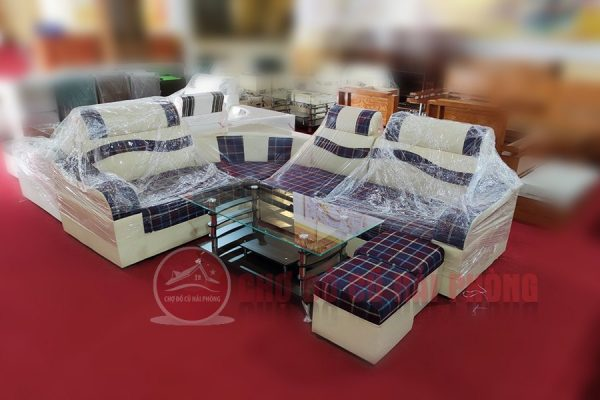 bộ sofa nỉ giá rẻ chợ đồ cũ