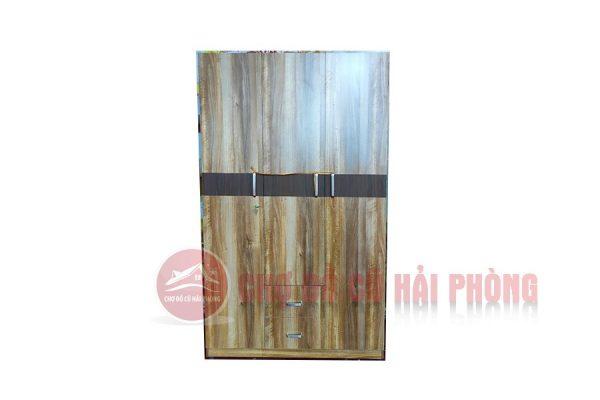 tủ quần áo gỗ công nghiệp MDF 3 cánh