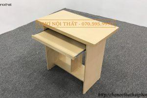 bàn vi tính gỗ okal 80cm