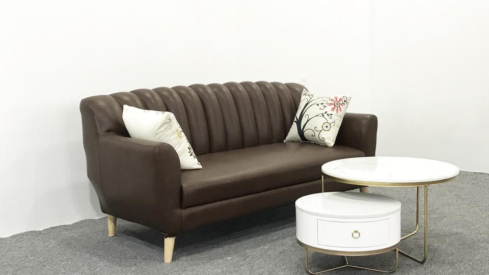Ghế sofa văng da thật giá rẻ Hải Phòng