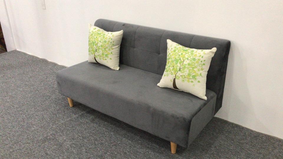 Ghế sofa văng nỉ không tay SKT