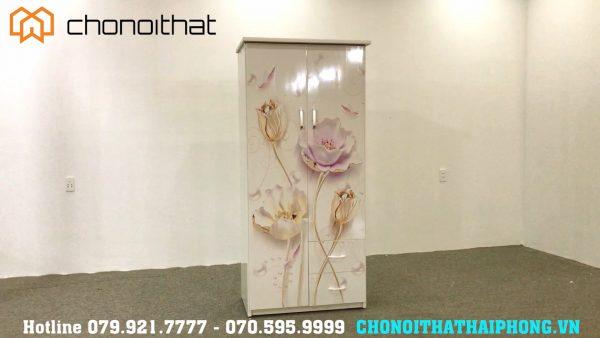 tủ nhựa cánh hoa lan