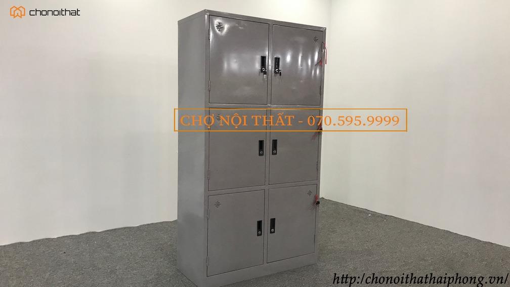 Tủ tài liệu sắt 6 cánh K6